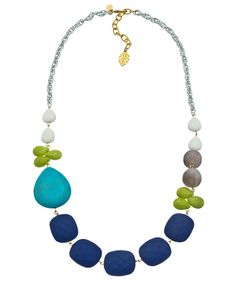 David Aubrey Color Cascade Necklace