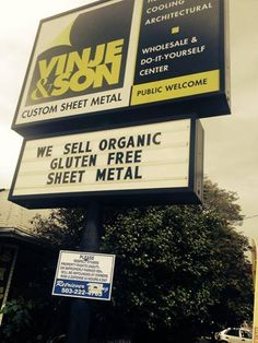 For all your Organic and Gluten Free needs -  From Keep Portland Weird on Facebook