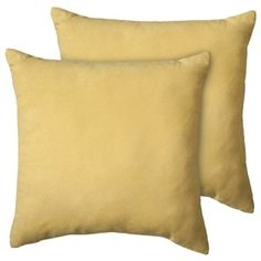 Target Mobile Site - Room Essentials® Suede Pillow 2-Pack