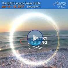 ☆ ♫ ☆ The lineup for this year is FABULOUS! Watch the video! #countrymusiccruise #caribbeancruise #countrymusic #countrycruising