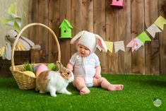 Easter Photoshoot Ideas for babies / Toddlers / Kids diy photoshoot 24 Easter Photoshoot Ideas for Kids to make your Easter stories a memorable one - Hike n Dip Baby Pictures, Baby Photos, Easter Pictures For Babies, Diy Easter Cards, Easter Backdrops, Easter Story, Foto Baby, Decoration, Photoshoot Ideas
