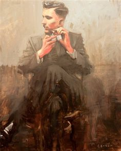 "Michael Carson - artist ""Vice"" 24 x 18 Bonner David Galleries on artnet"