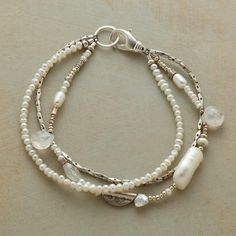 Bracelet | Sterling Silver & Pearls | Sundance (by Robert Redford) | $98 | This may be the first (and only) time I like pearls.