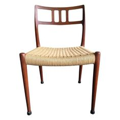 Image of Niels Moller Teak Dining Chairs No. 79 - S/7