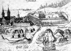Memel Castle drawing  (Hartknoch, 1684)