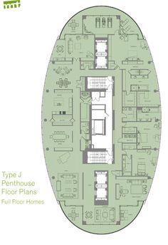 penthouses for sale floor plans | pdf of floor plan type j floor plan areas range in size from 9356 sq ...