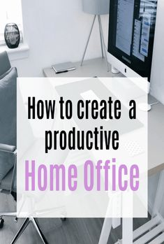 How to create a poductive Home Study or Home Office. Top tips and ideas on how ro design a room you will enjoy working from home in. Beautiful Space, Beautiful Homes, Home Study, Study Space, Simple House, Storage Solutions, Workplace, Productivity, Home Office