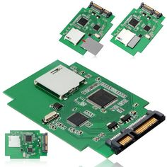 Standard SD SDHC MMC Memory Card to 7+15 Pin 22pin SATA Male Convertor Kit Adapter Convertor Adaptor Card ,With tracking number
