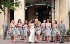wedding pink and gray - Google Search