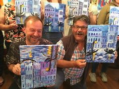 Learn to paint and enjoy a glass of wine at Vine & Canvas. We will guide you in duplicating the night's highlighted painting. Take home your own Masterpiece! Paint And Sip, Learn To Paint, Venice, Vines, Mystery, Artists, Canvas, Painting, Tela