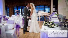 Emma & Dan's wedding - lovely cakes with beautiful hints of lavender He's Beautiful, Surrey, Dan, Lavender, Groom, Romantic, Cakes, Wedding Dresses, Fashion