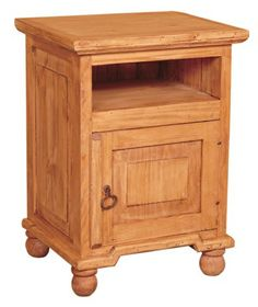 Pine Mexican Nightstand