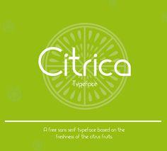 Cítrica Free Font