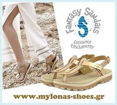 ΓΥΝΑΙΚΕΙΟ ΠΕΔΙΛΟ ΑΕΡΟΣΟΛΟ FANDASY SANDALS www.mylonas-shoes.gr Shop now->https://goo.gl/x1i89B