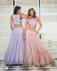 20 Latest Bride Sister Lehengas By Geethika Kanumilli - Indian Wedding Outfits, Indian Outfits, Wedding Dresses, Indian Attire, Formal Dresses, Indian Wedding Photography Poses, Couple Photography, Saree Poses, Indian Bridesmaids