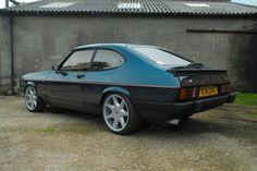 Ford Capri, Cars Uk, Ford Classic Cars, Dream Machine, Modified Cars, Rally Car, Custom Cars, Cool Cars, Old School