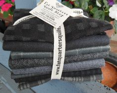 Mmmm look at all the NEW dark Primo Plaid flannels from Marcus Fabrics :)