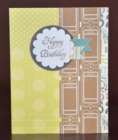 Happy Birthday card by Darla Weber #MayaRoad #WRMK