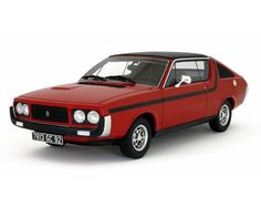 OttOmobile 1:18 Renault 17 Resin Model Car OT570 This Renault 17 TS Resin Model Car is Red. It is made by OttOmobile and is 1:18 scale (approx. 25cm / 9.8in long).  #OttOmobile #ModelCar #Renault