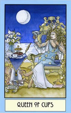 Queen of Cups by Winona Cookie