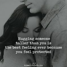 Hugging Someone Taller Than You