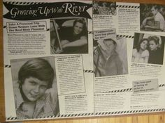 River Phoenix, Two Page Vintage Clipping