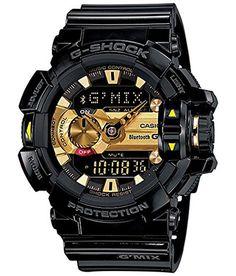 Casio G-shock Bluetooth Analog-digital Black Dial Men's Watch - Gba-400-1a9dr (g557)