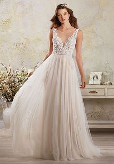 Alfred Angelo Modern Vintage Bridal Collection 5006 A-Line Wedding Dress