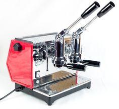 Ponte Vecchio LUSSO 2 (Dual) Group Lever Espresso Machine Classic 'Club' Design