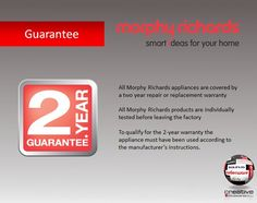 Morphy Richards Guarantee Innovation Design, Being Used
