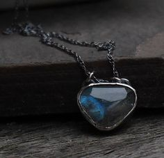 Labradorite Necklace Sterling Silver  Gemstone Necklace
