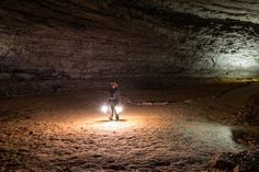 MAMMOTH CAVE NATIONAL PARK - With over 400 miles of explored cave—and countless more miles of unexplored areas—Mammoth Cave National Park in Kentucky is the longest cave system in the world.
