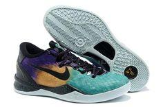 new styles b23b4 c307f Nike Zoom Kobe 8(VIII) Easter Fiberglass Court Purple-Black-Laser Purple,  Price   74.00 - Air Jordan Shoes, Michael Jordan Shoes