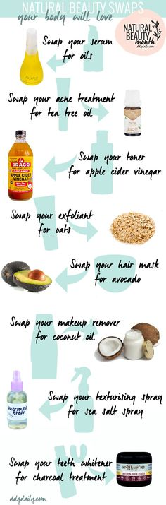 EASY NATURAL BEAUTY SWAPS YOUR BODY WILL LOVE