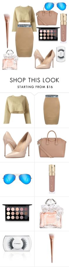 """""""Beige beauty"""" by tomboyllama995 on Polyvore featuring adidas Originals, Massimo Matteo, Givenchy, Ray-Ban, Smith & Cult, MAC Cosmetics and Guerlain"""