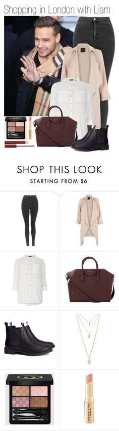 """""""581 • Shopping in London with Liam"""" by queenxxbee ❤ liked on Polyvore featuring Payne, Dorothy Perkins, Givenchy, H&M, Forever 21, Gucci, Napoleon Perdis, Kevyn Aucoin, OneDirection and LiamPayne"""