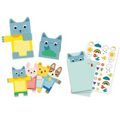 Cuddly toys invitation cards