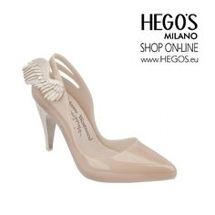 VIVIENNE WESTWOOD + MELISSA CLASSIC HEEL Melissa Classic Heel now gets a new detail: a heart and wings by Dame Vivienne Westwood. The unusual details mixed with sophistication give a fun contrasts to the classic scarpin.  Autumn/Winter 15/16 Collection HEGO'S