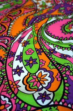psychedelic paisley art