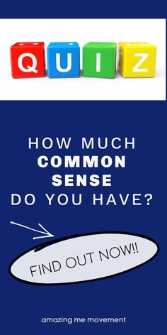 Take this fun and silly quiz to find out how much common sense you have. quiz posts|quizzes|fun quizzes|personality tests|playbuzz quizzes|buzzfeed quizzes|quizzes for fun|quiz questions and answers|personality quizzes|quizzes about yourself