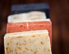 Organic Handmade Vegan Soap Sampler Any 5 by BrooklynSoapworks, $30.00