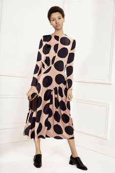 """stellamccartney: """" Romantic meets fun this season with bold oversized spots contrasted on fluid dresses. Shop Now: http://stell.am/28KbDUW """""""