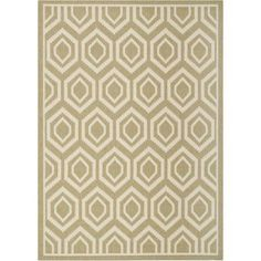 Safavieh Courtyard Amelia Power-Loomed Indoor/Outdoor Area Rug or Runner, Green