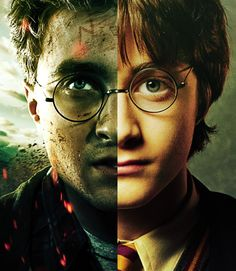 First and last movie Harry. Love this!