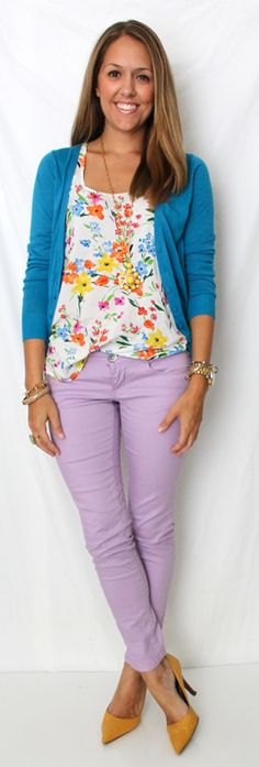 Shirt:Old Navy  Jeans: Rewind c/oKohl's  Blue cardigan: Moda  Shoes: Bandolino