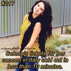 Selena's Fact
