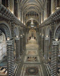 Duomo di Siena - Navata centrale
