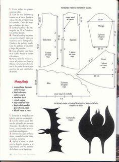disfraces de miedo con patrones para niños, | IDEAS DISFRAZ (shared via SlingPic)