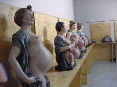 Outstanding collection of obstetrical models, realized by Giovan Battista Manfredini in Modena between 1773 and 1775  Anatomical Museum in Modena (Italy) http://www.museianatomici.unimore.it/site/home/i-musei-anatomici/collezioni/museo-ostetrico/articolo560022386.html