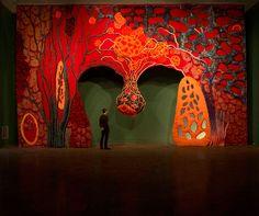 """""""Piotr Uklański"""" at Art Basel Unlimited, Basel on view June 10–June 16, 2013"""